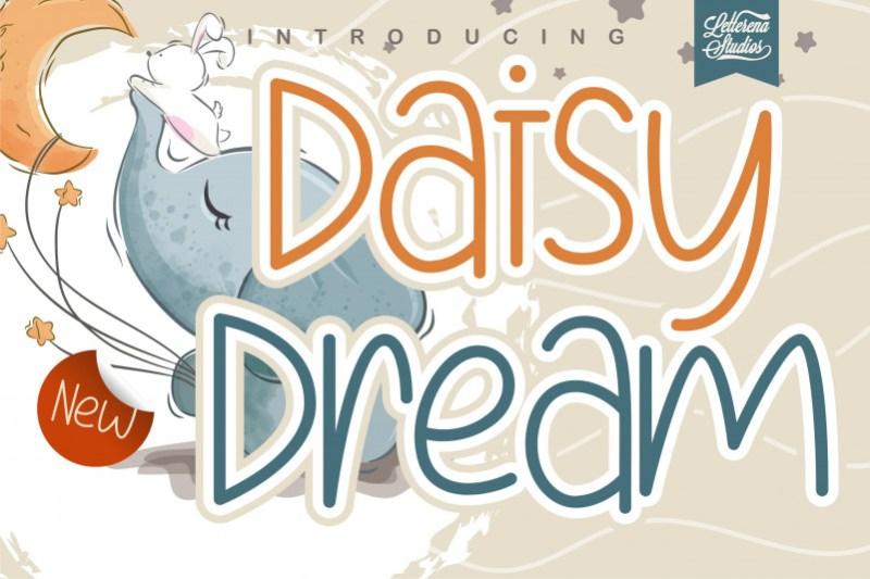 Daisy Dream Font