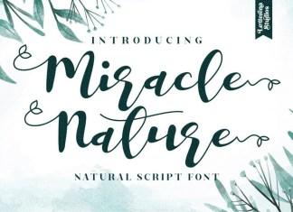 Miracle Nature Font