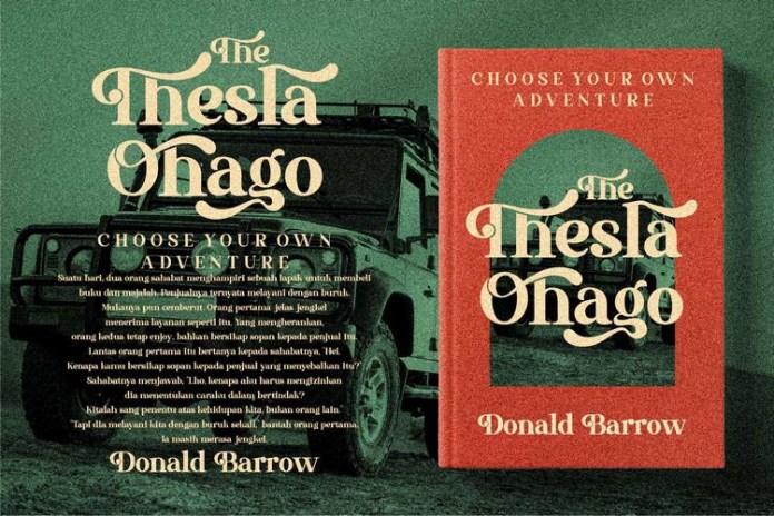 The Thesla Ohago Font