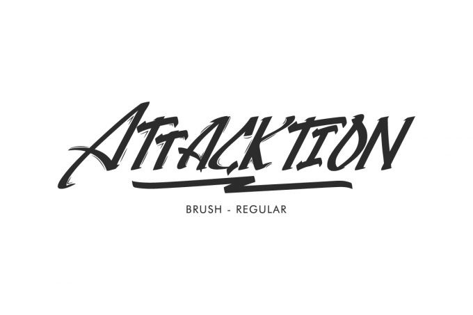 Attacktion Font