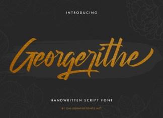 Georgerithe Font