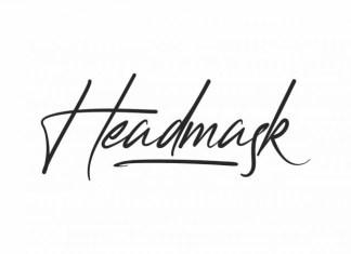 Headmask Font