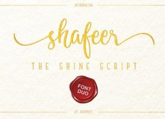 Shafeer Font