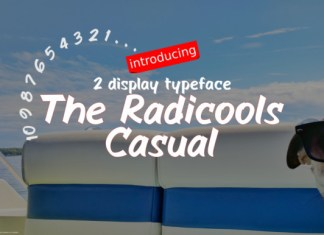 The Radicools Casual Font