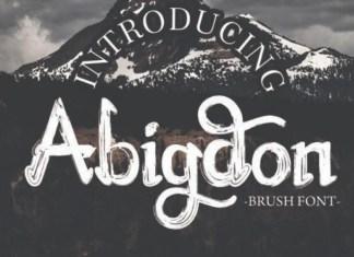 Abigdon Font
