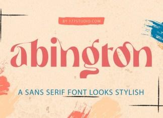 Abington Font