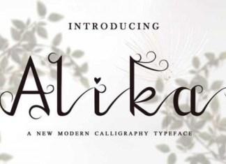 Alika Font