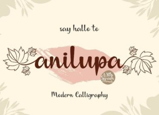 Anilupa Font