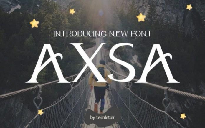 AXSA Font