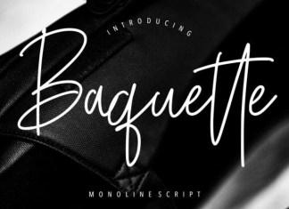 Baquette Font