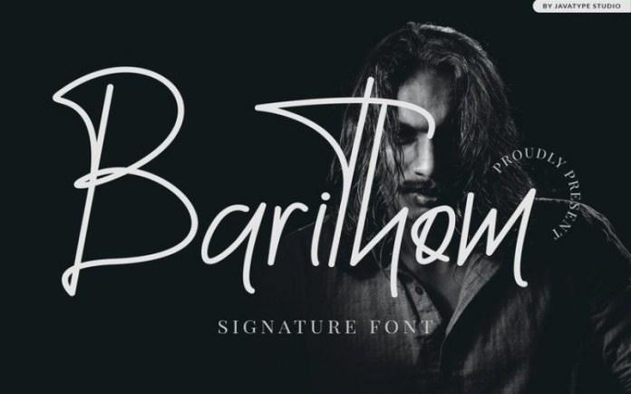 Barithom Font