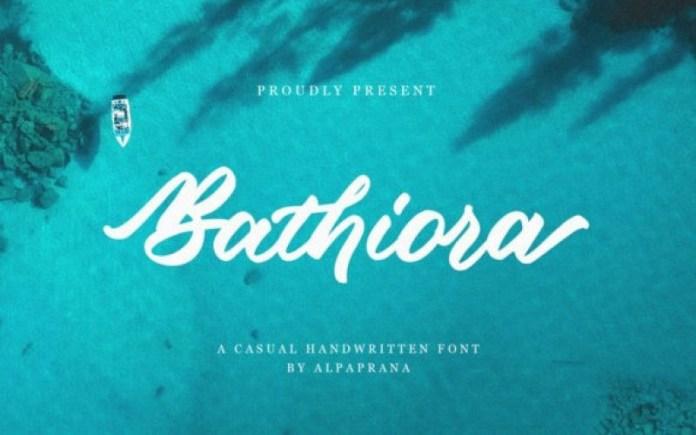 Bathiora Font