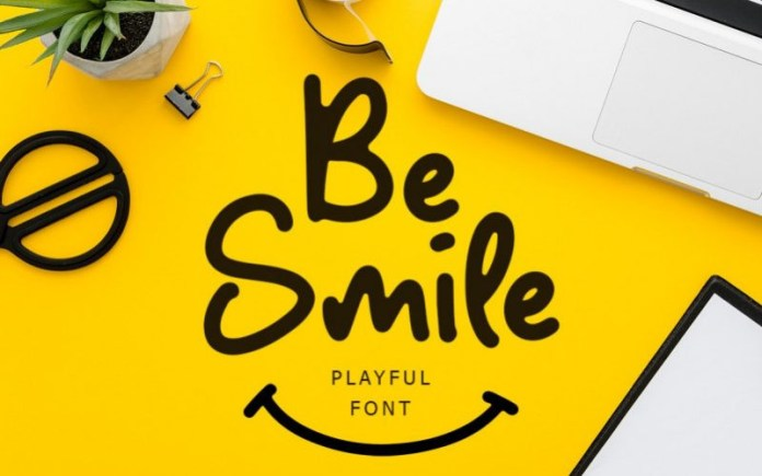 Be Smile Font