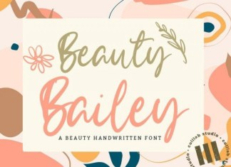 Beauty Bailey Font