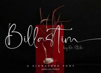 Billastim Font