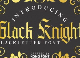 Black Knight Font