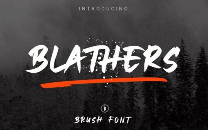 Blathers Font