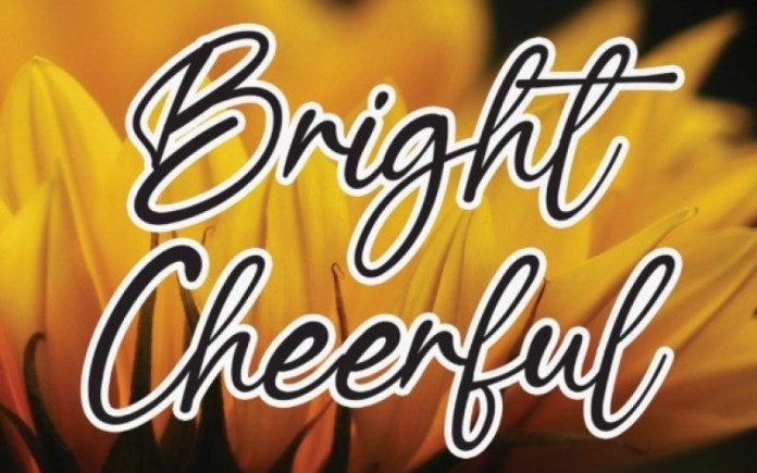 Bright Cheerful Font
