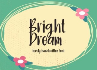 Bright Dream Font