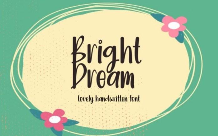 Bright Dream Font