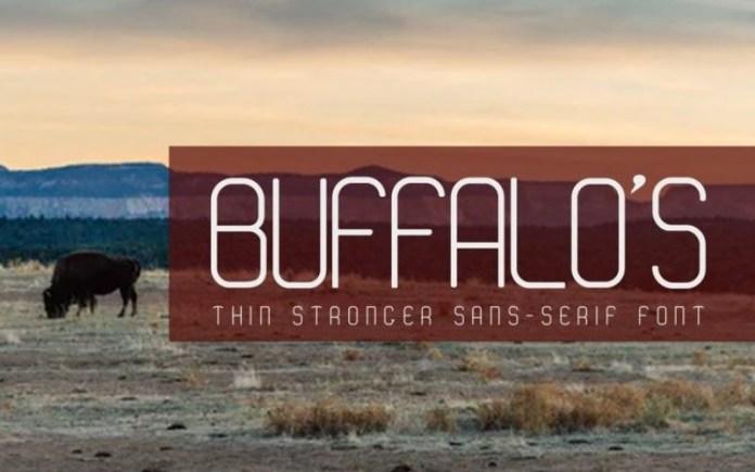 BUFFALO'S Font