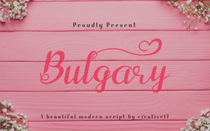 Bulgary Font