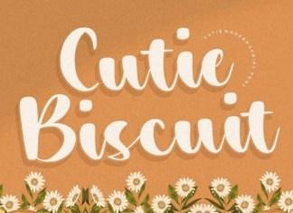 Cutie Biscuit Font