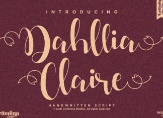 Dahllia Claire Font