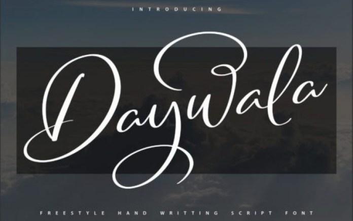 Daywala Font