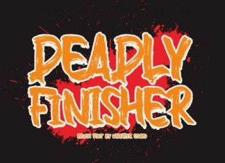 Deadly Finisher Font