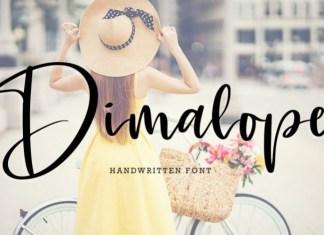 Dimalope Font