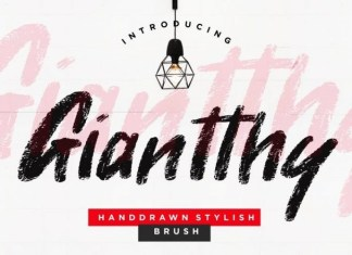 Giantthy Font