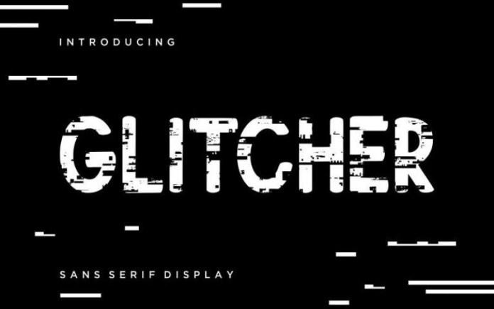 Glitcher Font