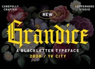 Grandice Font