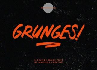 Grunges Font