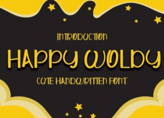 Happy Woldy Font