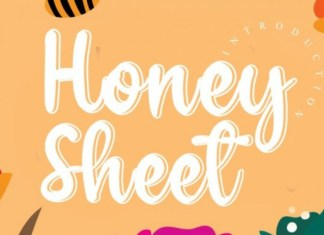 Honey Sheet Font