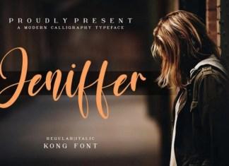 Jeniffer Font