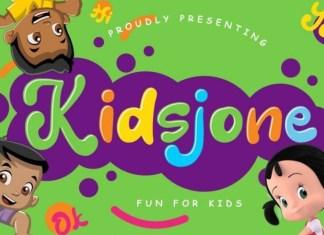 Kidsjone Font