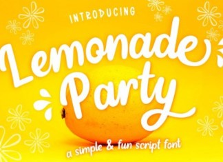 Lemonade Party Font
