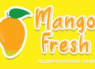 Mango Fresh Font
