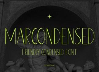 Marcondensed Font