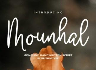 Mounhal Font