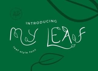 My Leaf Font