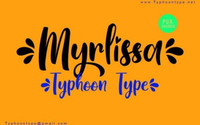 Myrlissa Font