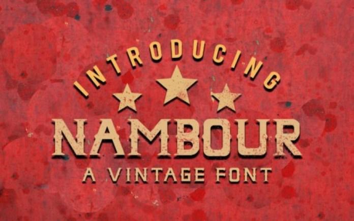 Nambour Font