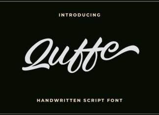 Quffe Font