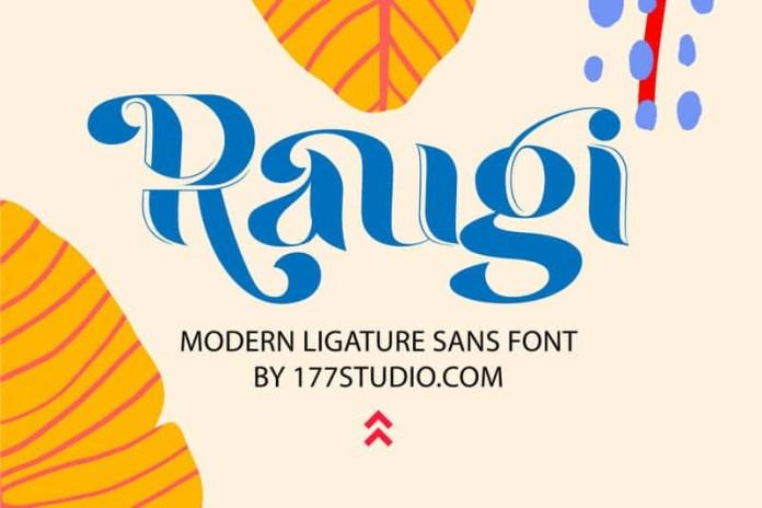 Raugi Font