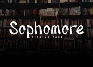 Sophomore Font