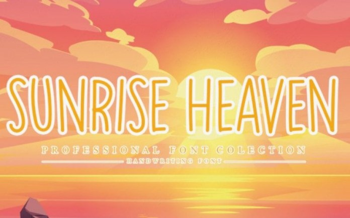 Sunrise Heaven Font